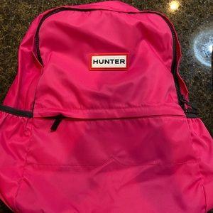 Pink HUNTER Original Nylon Backpack - Barely Used